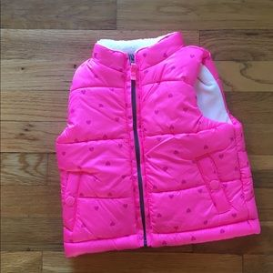 CLEARANCE: Carter's Puffy Vest Size: 18 months